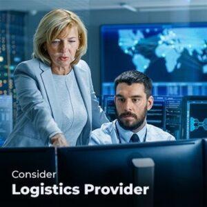 Consider a Logistics Provider