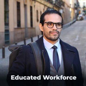 Educated Workforce