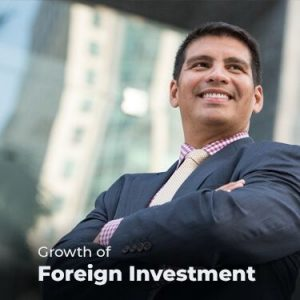 Growth of Foreign Investment