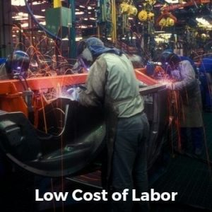 Low Cost of Labor
