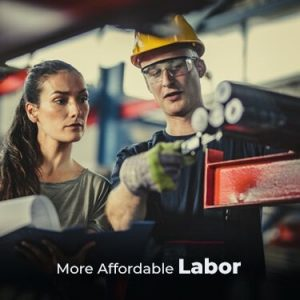 More Affordable Labor