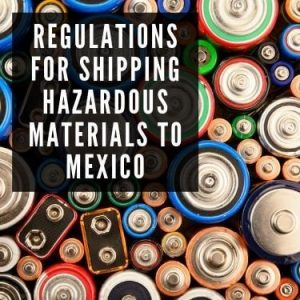 Regulations for shipping hazardous materials