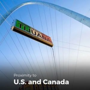 proximity to us and canada