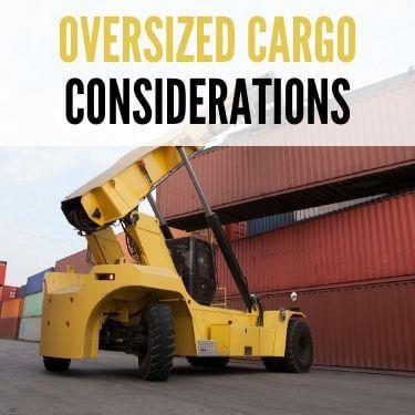 Oversized Cargo Considerations