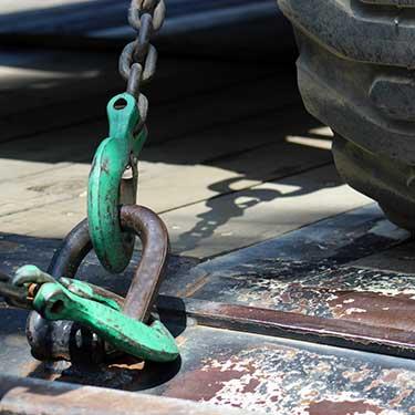 Transporte de maquinaria de pesada plataforma de transporte pesado
